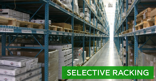 Selective racking options for sale at Lift, Inc.