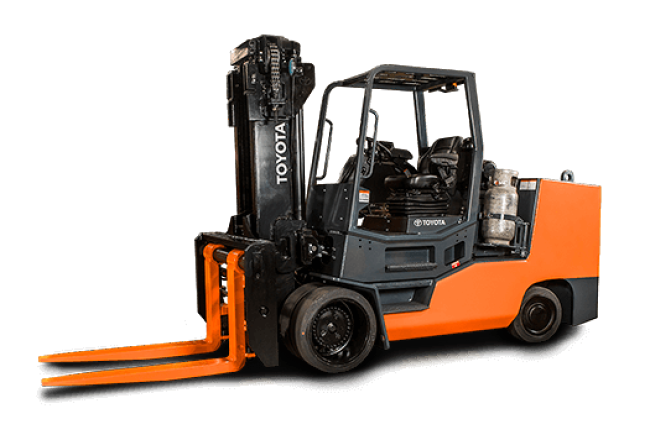 High-Capacity Large Cushion Forklift