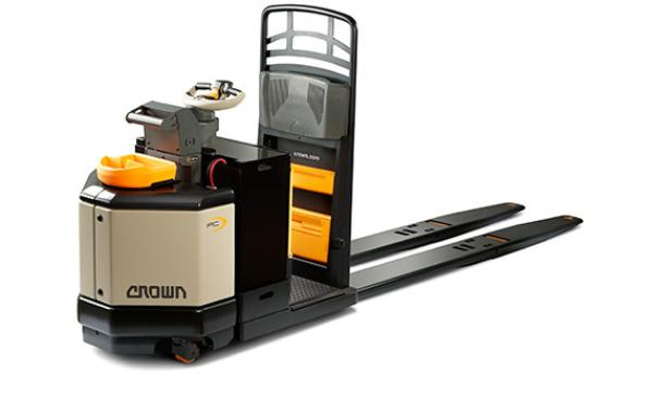 Crown PC Series Center-Control Rider Pallet Truck