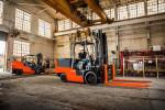 High-Capacity Electric Cushion Forklift