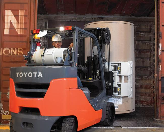 Paper Roll Special Forklift