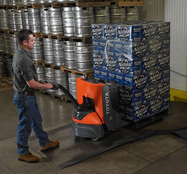 Electric Walkie Pallet Jack