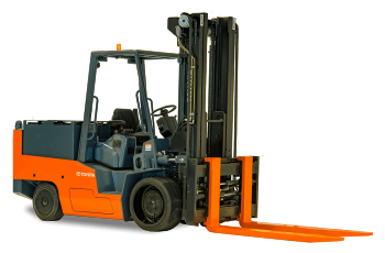 Toyota High-Capacity Electric Cushion Forklift