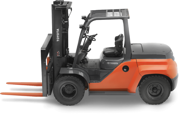 Toyota Large IC Pneumatic Forklift