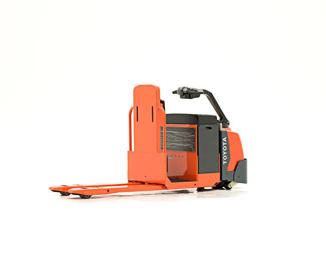 Center-Controlled Rider Pallet Jack
