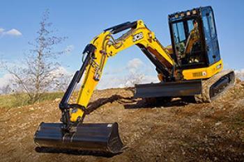 JCB 55Z-1 Compact Excavator