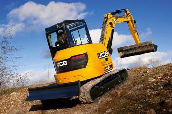 JCB 48Z-1 Compact Excavator