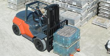 Toyota Large IC Pneumatic Forklift