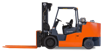 Toyota High-Capacity Cushion Forklift