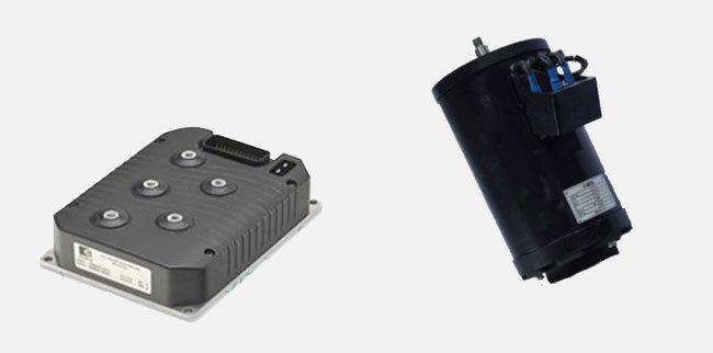 Electric Walkie Reach Stacker (3,300 LBS)