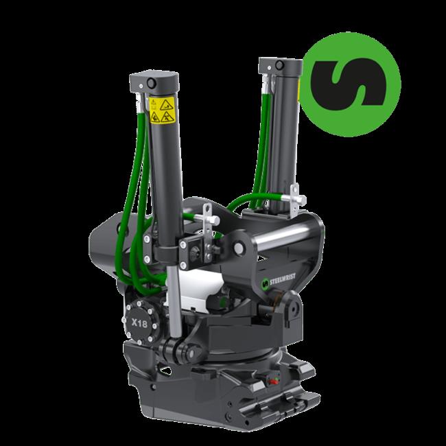 X18 S60 Tiltrotator