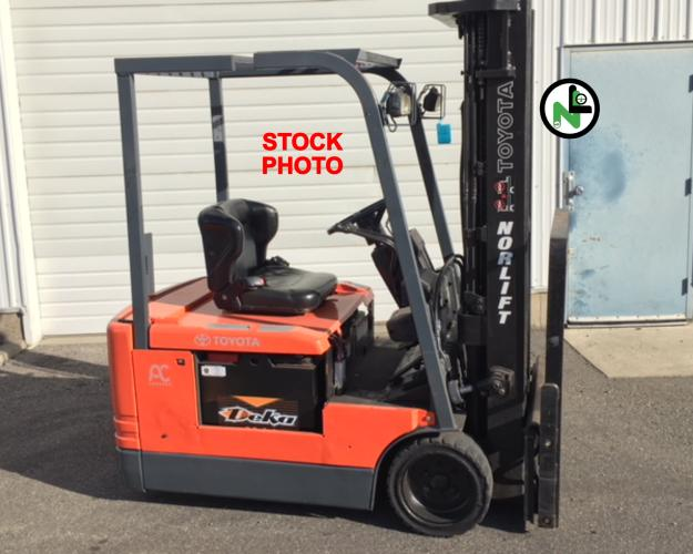 Toyota 5FBE15 Electric Forklift