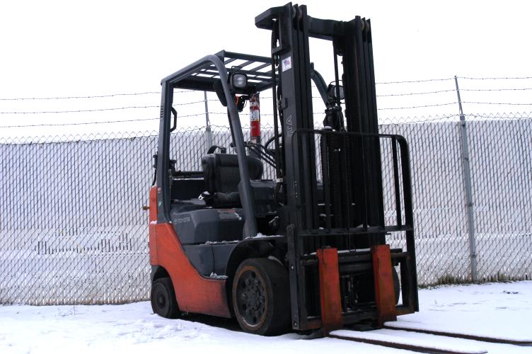 Toyota 8FGCU25 Cushion Forklift