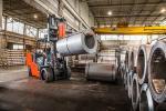 High-Capacity Cushion Forklift