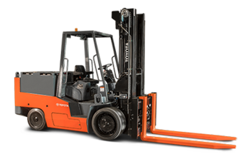 High Capacity Forklifts: Cushion