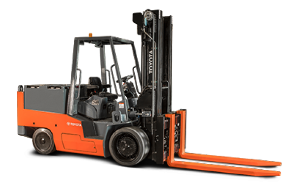 Toyota High-Capacity Electric Cushion Forklift (15,000-40,000 LBS)