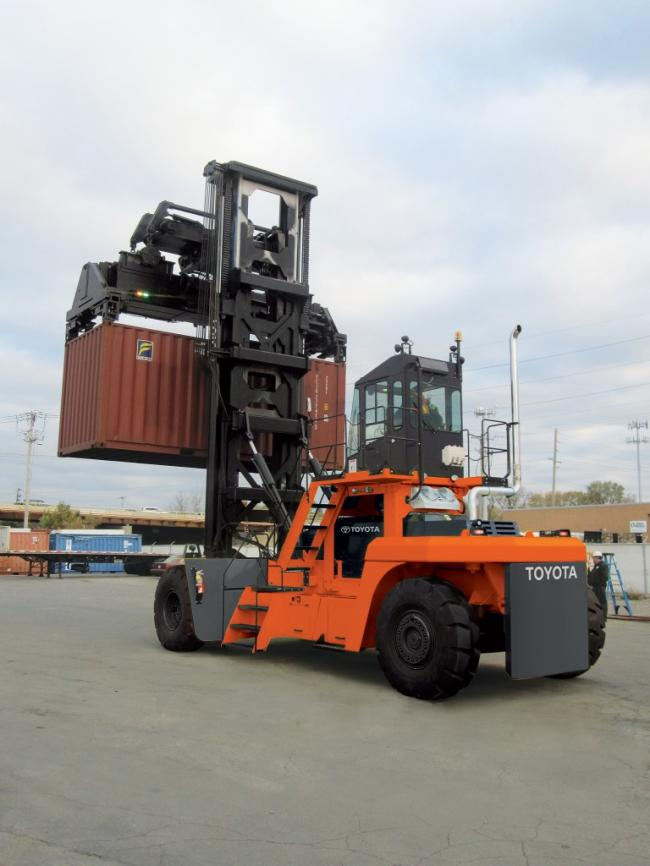 Loaded Container Handler