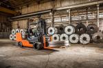 High-Capacity Large Cushion Forklift