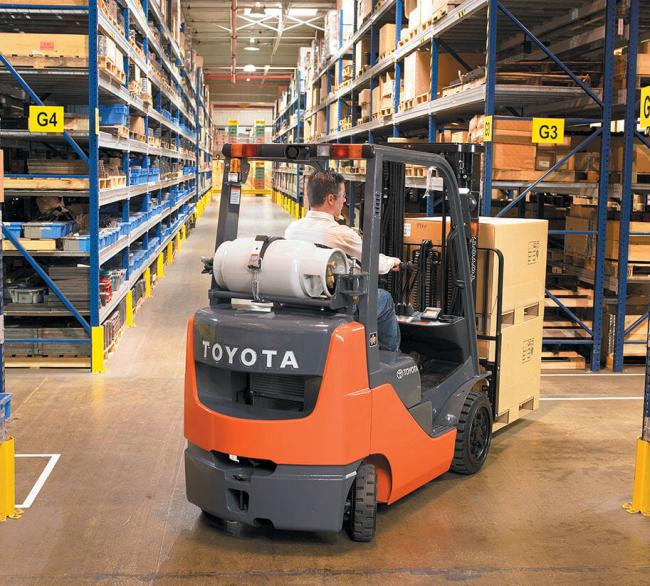 Core IC Cushion Forklift (3,000-6,500 LBS)