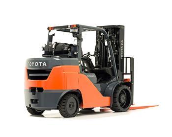 Toyota Large IC Cushion Forklift