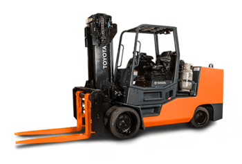 Toyota High-Capacity Large Cushion Forklift (25,000-100,000 LBS)