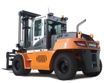 High Capacity Forklifts: Pneumatic