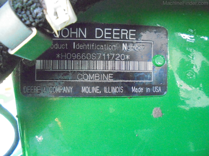 John Deere 9660 STS
