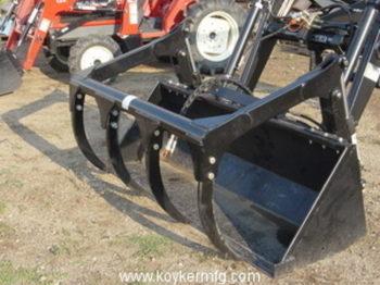 Koyker Materials Grapple and Bucket