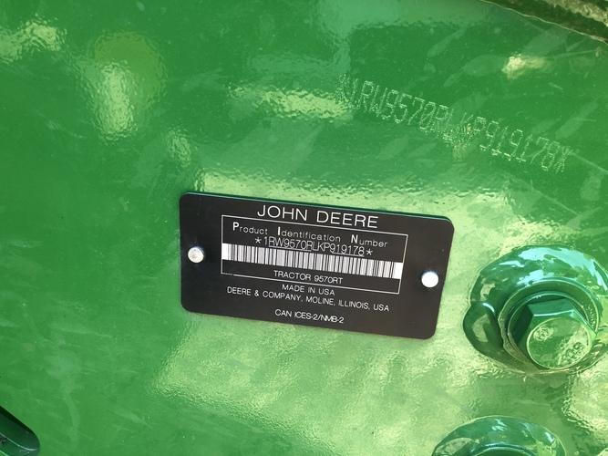 John Deere 9570RT