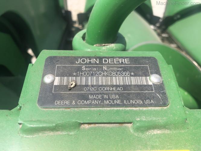 John Deere 712C