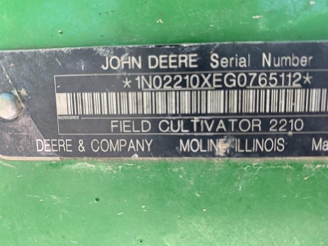John Deere 2210FH