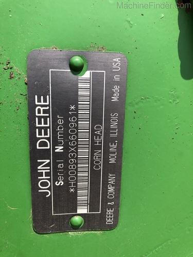 John Deere 893