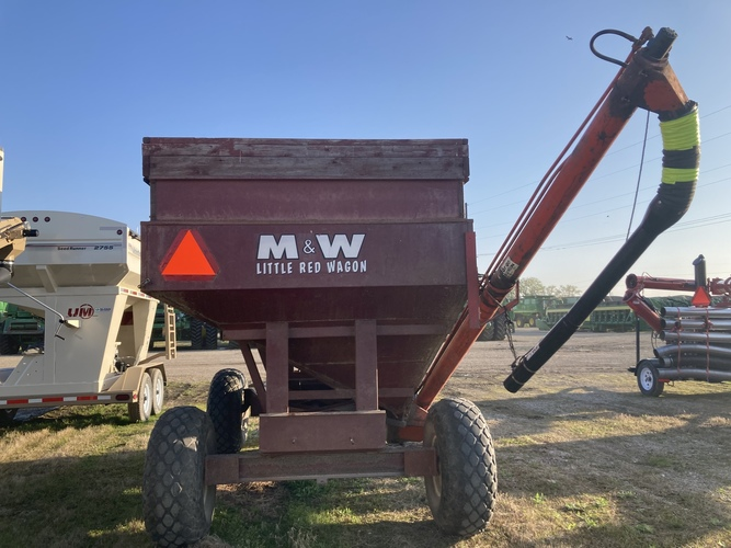 M&w LITTLE RED WAGON