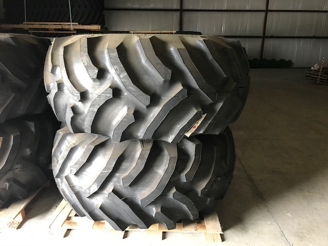 Goodyear 30.5X32 Tires and Wheels for STS Combine