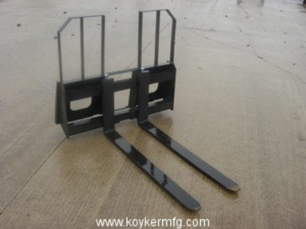 Koyker Rail Type Pallet Fork