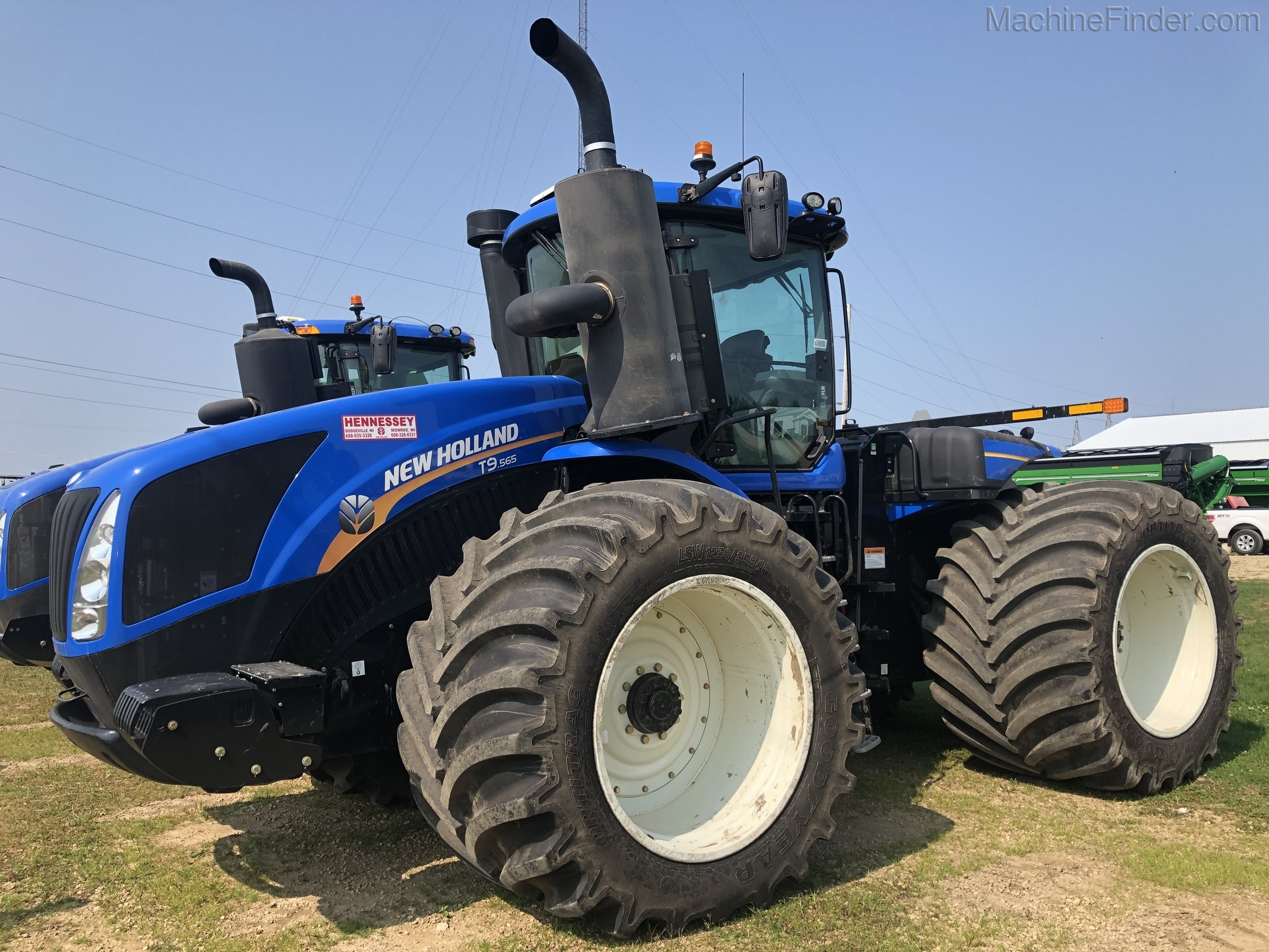 2019 New Holland T9 565