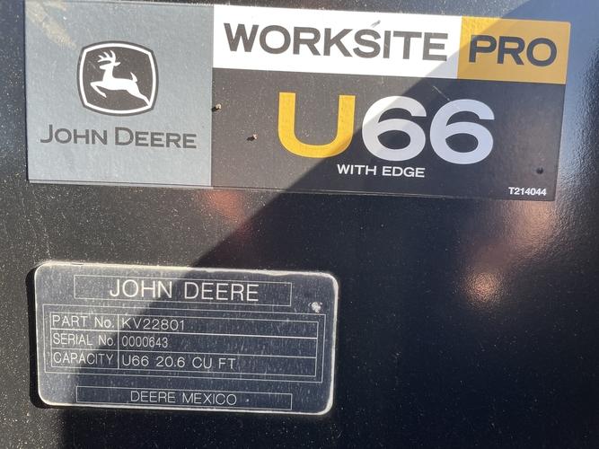 "John Deere 66"" UTILITY BUCKET"