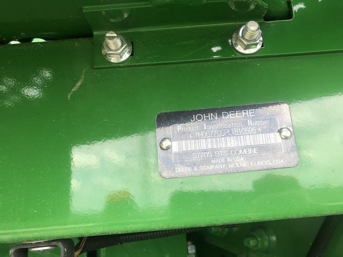 John Deere S770