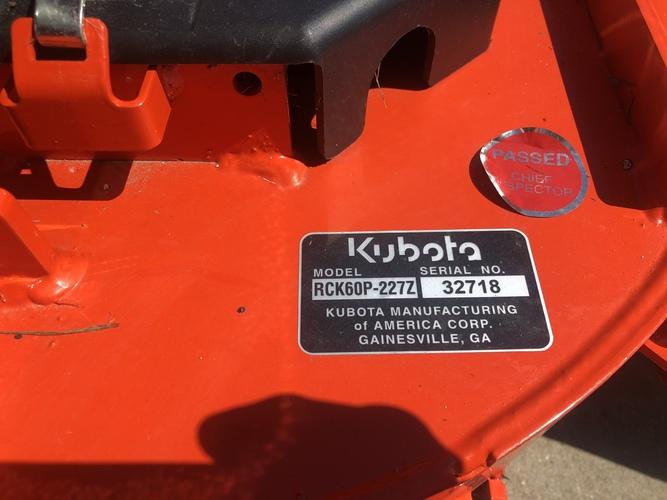 Kubota ZG227