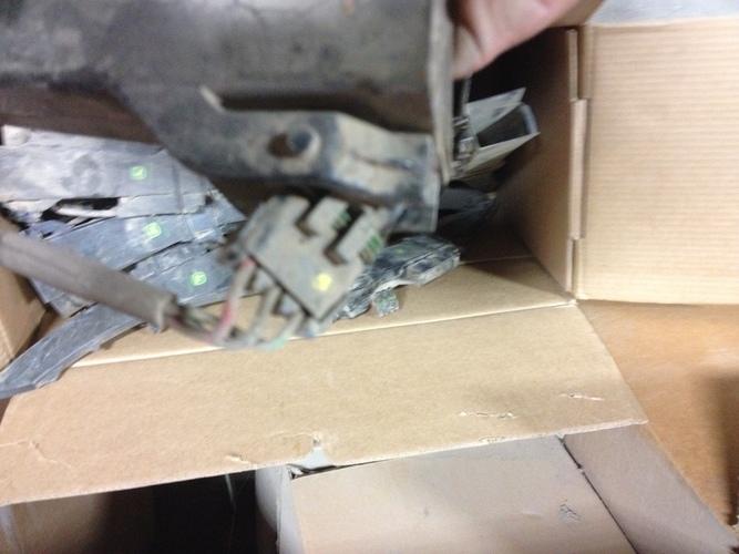 John Deere Vac seed tube w/ Accucount sensor