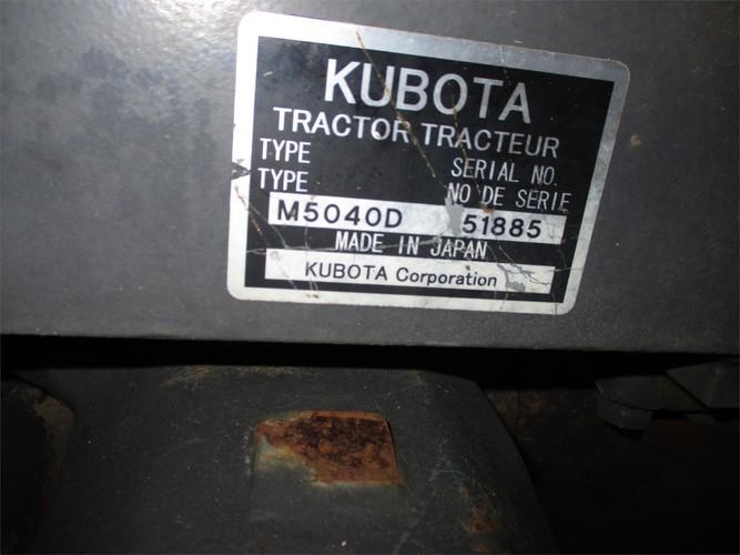 KUBOTA M5040D