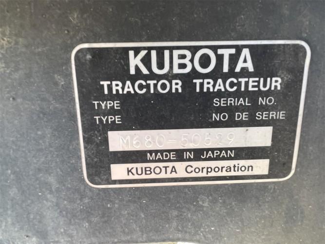 KUBOTA M6800