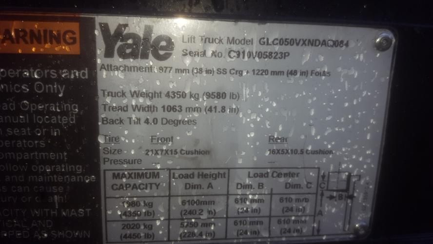 Yale GLC050VX