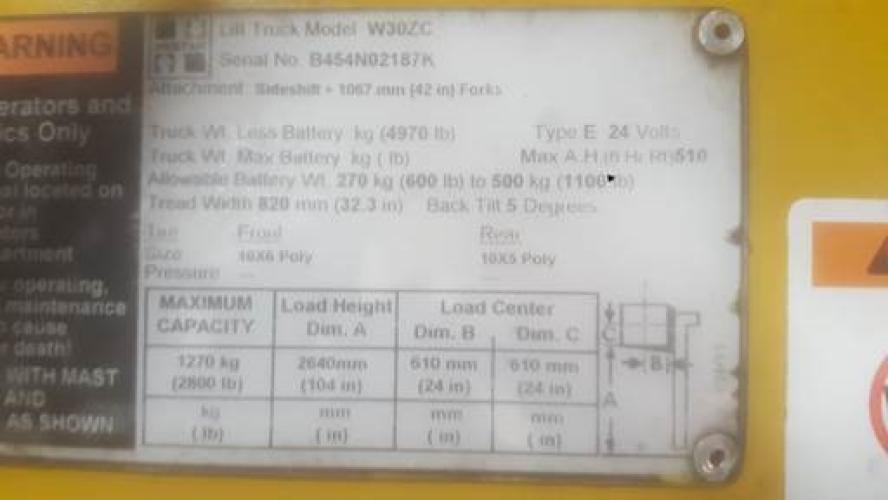 Hyster W30ZC