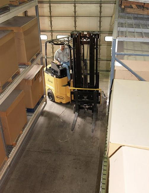 Wheeler Material Handling offers many material handling solutions. We're featuring the Landoll Bendi B3/30AC  - a true very narrow aisle product designed to maximize your warehouse storage space.